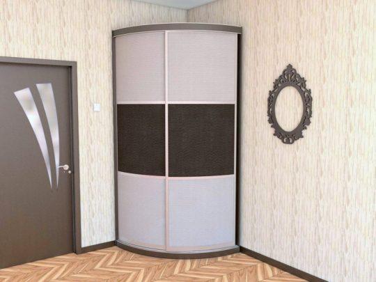 Радиусный шкаф купе в Калининграде