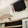 Прямая глянцевая кухня на заказ в Калининграде