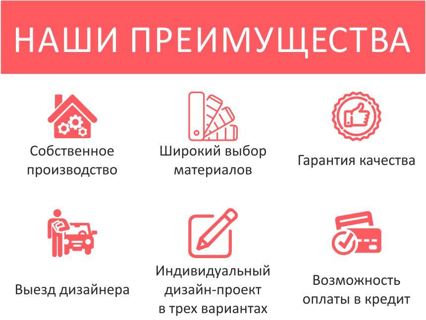 Шкафы-купе на заказ в Калининграде и области